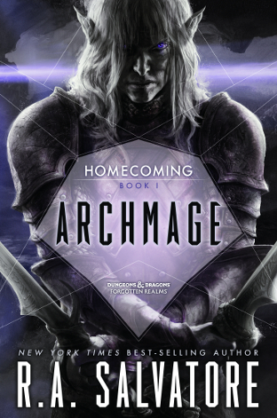 ARCHMAGE by R A  Salvatore | Reading 1000 Lives